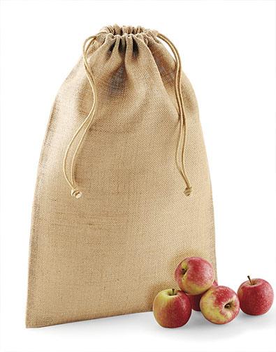 textilná jutová taška